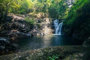 khlong pla kang wasserfall in thailand foto