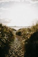 Weg zum Strand
