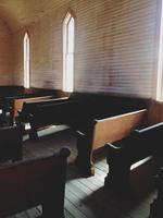 Kirchenbänke foto