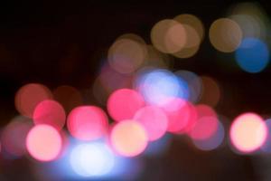 verschwommene Bokeh-Lichter