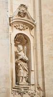 Statue des Heiligen Christopher in Martin Franca, Italien foto