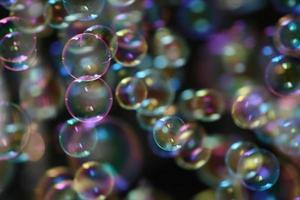 Luftblasen foto