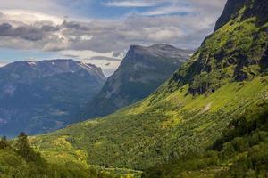 schöne landschaft von norwegen, skandinavien, europa