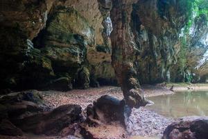 Lagune am Railay foto