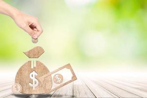 geldsparendes Konzept