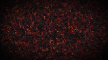 feuriger Rauch oder Nebel, atmosphärische 3D-Illustration