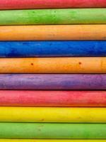 horizontal ausgerichtete Kreide