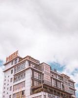 Kampala, Uganda, 2020 - Nanjing Hotel während des Tages