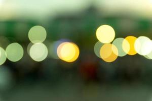 verschwommenes Bokeh beleuchtet Hintergrund foto