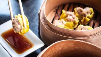 chinesisches Dim Sum Shumai