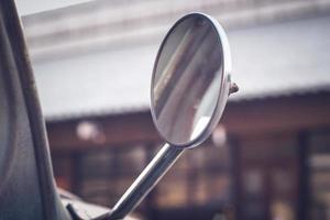 Seitenspiegel am Oldtimer