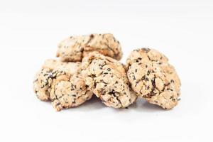 Kekse isoliert auf weißem Hintergrund