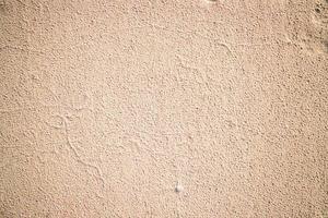 beige gestrichene Wand