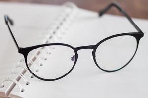 Nahaufnahme der Brille