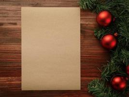 Frohe Weihnachten und ein frohes neues Jahr Poster Vorlage