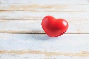 Valentinstag rotes Herz foto