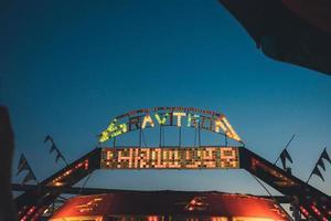 Los Angeles, 2020 - Fahrt auf der Staatsmesse foto