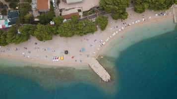 Fotografie der Insel aus der Vogelperspektive