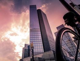 Hochhäuser in Frankfurt, Deutschland