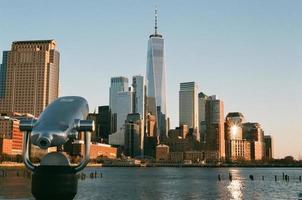 Teleskop mit Blick auf das One World Trade Center