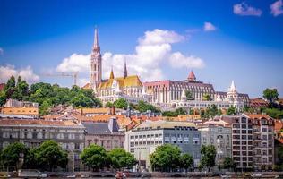 Blick auf Buda von Schädling, Budapest