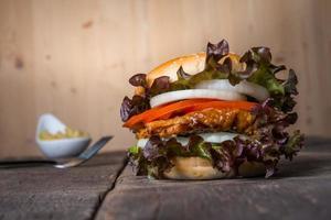 hausgemachter Chicken Burger