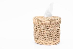 gewebte Taschentuchbox mit Kopierraum