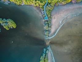 Vogelperspektive auf die Malediven foto