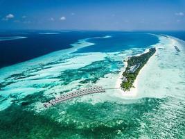 Resort auf den Malediven