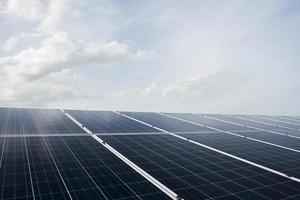 Solarzellenpark Kraftwerk