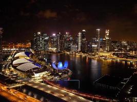 Singapur in der Nacht