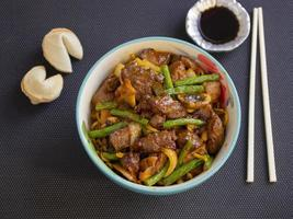 Angus-Rindfleisch nach chinesischer Art