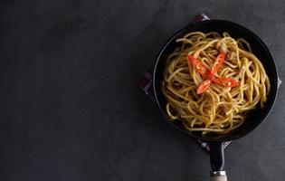 italienische Pasta mit Sauce
