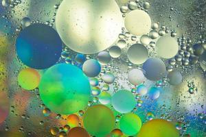 Wasser und Öl, abstrakter Hintergrund