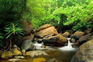 Strom an den Wang Takrai Wasserfällen