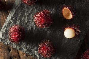 frischer tropischer Bio-Rambutan