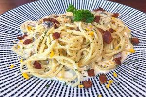 Teller Spaghetti foto