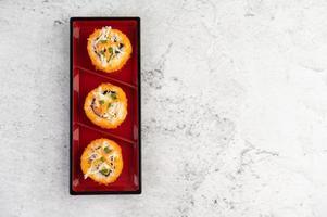 verschiedene Sushi-Rollen