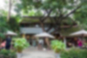 Outdoor Cafe Hintergrund
