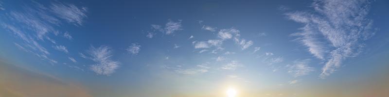 der Himmel und die Wolken