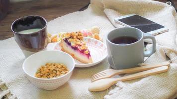 gesunde Morgenmahlzeit
