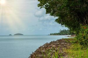 das meer bei koh chang in thailand