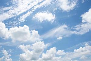Wolken im Himmel foto