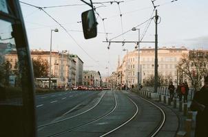 Autos unterwegs in Wien