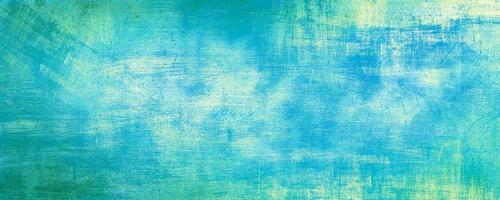 abstrakter blauer Weinlese-Zementwandhintergrund mit zerkratzter Pastellfarbe, moderner Hintergrundbeton mit rauer Textur, Tafel. raue stilisierte Textur der konkreten Kunst
