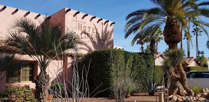 Palm Springs, ca. 2020 - Hotel Kalifornien während des Tages
