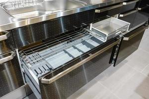 Innenausstattung der Industrieküche