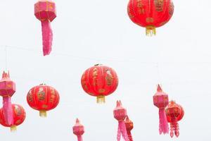 chinesische Papierlaternen foto