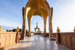 Gebäude in Wat Phra, die Pha Son Kaeo