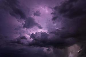 dramatischer stürmischer Himmel